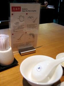 Precise instructionson how to eat your dumplings