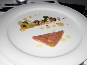 Terrine Languedocienne with sauce ravigote and apple cider gel