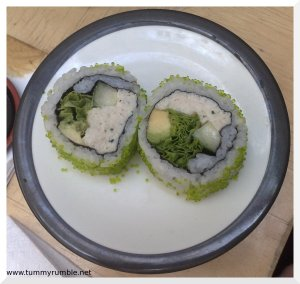 crab avocado roll