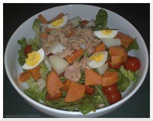 tuna nicioise salad